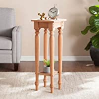 Unfinished Wood Accent Table