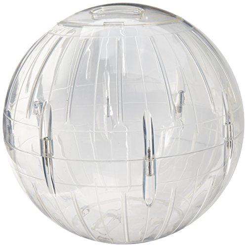 Jumbo Around Wheel - Lee's Kritter Krawler Jumbo Exercise Ball, 10-Inch, Clear