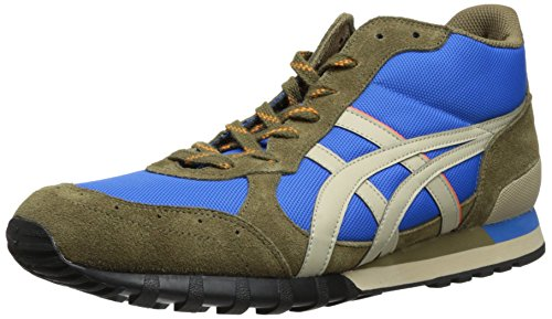 Onitsuka Tiger Colorado Eighty-Five MT Fashion Sneaker,Mid Blue/Sand,12.5 M US/14 M US Women's