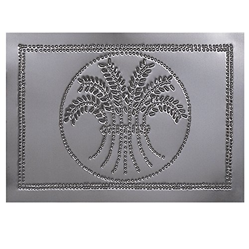 Horizontal Wheat Cabinet Panel in Country Tin