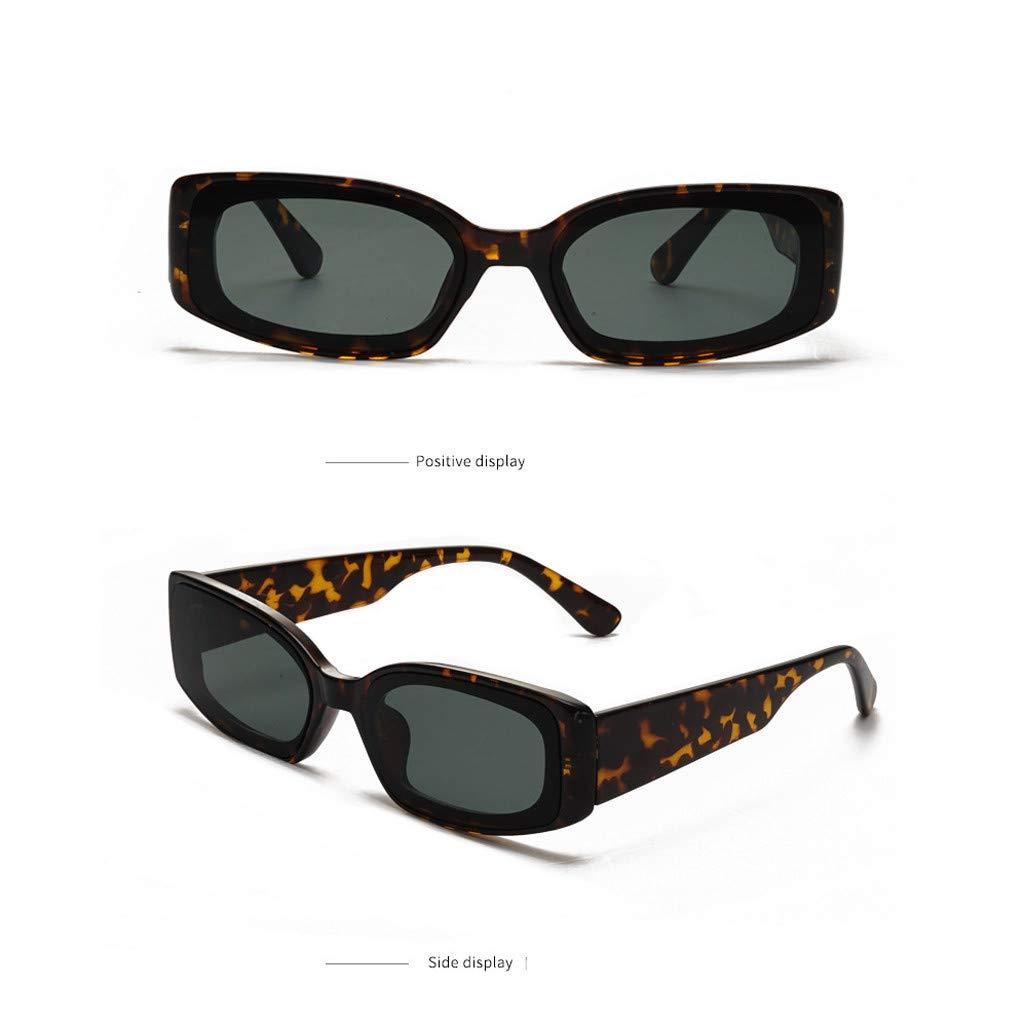 VECDY Gafas De Sol Mujeres, Hombres Uv400 Vintage Eye Gafas ...