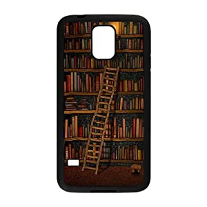 ORIGINE Light candle bookshelf with book Cell Phone Case for Samsung Galaxy S5