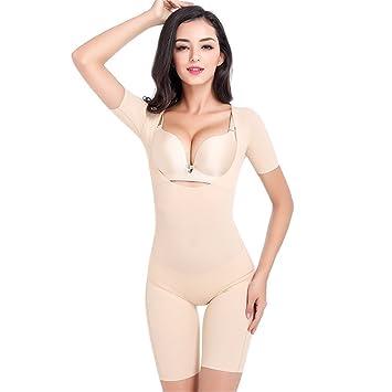 9da8508b299e7 SYXSN Womens Girls Lightweight Shapewear Firm Control Body Full Body Shaper  Bodysuits Easy For Bathroom Underwear
