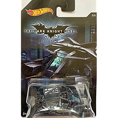 Hot Wheels, 2015 Batman, Batman: The Dark Knight Rises Movie The Bat Exclusive Die-Cast Vehicle #5/6: Toys & Games