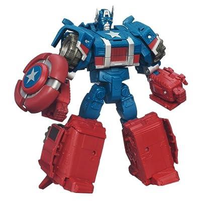 Avengers Captain America To Assault Cruiser Action Figure from Avengers