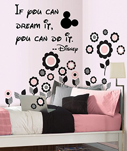 """If you can dream it, you can do it -Wall-decal- 14""""wide X 20"""