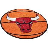 FANMATS NBA Chicago Bulls Nylon Face Basketball Rug