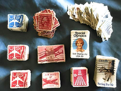 (1000+ Used Us Postage Stamps Off-paper Stamp United States Stamp Collecting by USPS)