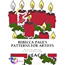 Rebecca Page's Patterns for Artists: Patterns for Christmas (Volume 3)