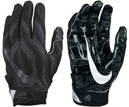 size 40 90ab4 d9ad6 NIKE SUPERBAD ! 4.0 Magnigrip Full Protection Football Receiver Gloves  (Black Wolf Grey)