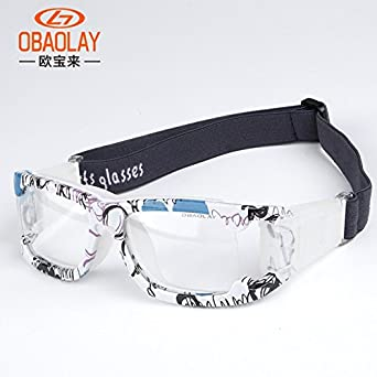 739d5baba4a ... Professional Sports Goggle Football Basketball Glasses Protective Glasses  Eyeglasses Soccer Eyewear Prescription Lens  Amazon.in  Clothing    Accessories