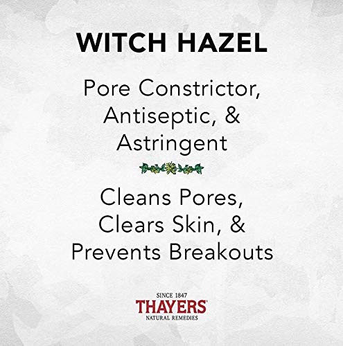 Thayers Alcohol-Free Rose Petal Witch Hazel Toner with Aloe Vera Formula-12 Oz (Facial Toner)
