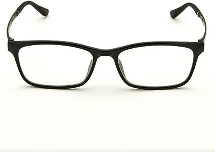 Anti Eyestrain Lens TR90 Frame Eyeglasses Black Matte Black Cyxus Blue Light Blocking Glasses for Computer Use Men//Women