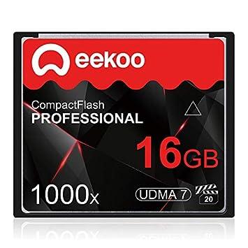 ZHU Tarjeta de Memoria For cámara DSLR 16GB 1000X UDMA7 ...