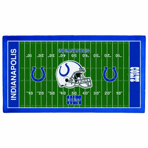NFL Indianapolis Colts 28 x 52-Inch Floor Mat (Indianapolis Colts Floor Rug)