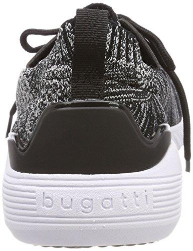 Bugatti Men's 341394046900 Slip on Trainers, Beige Black (Schwarz 1000)