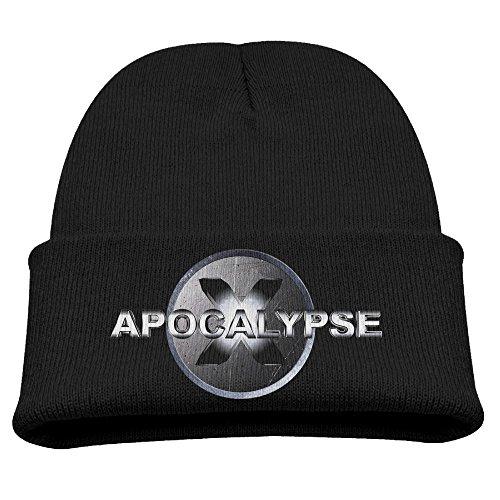 X Men Apocalypse 2016 Boy Girl Winter Hat Beanies Cap Black