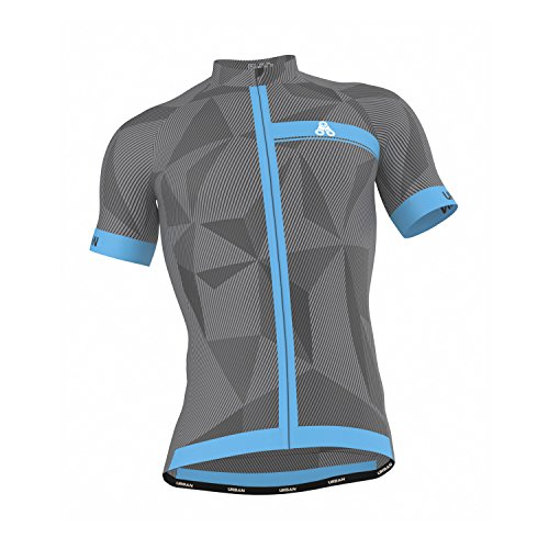 - Men's URBAN CYCLING TEAM Short Sleeve Jersey & Bib Shorts Cycling Kit Set, Limited Edition (Medium, ELITE GRAPHITE Jersey)