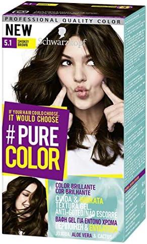Schwarzkopf Pure Color Tinte Permanente 5.1 Smokey Brown ...