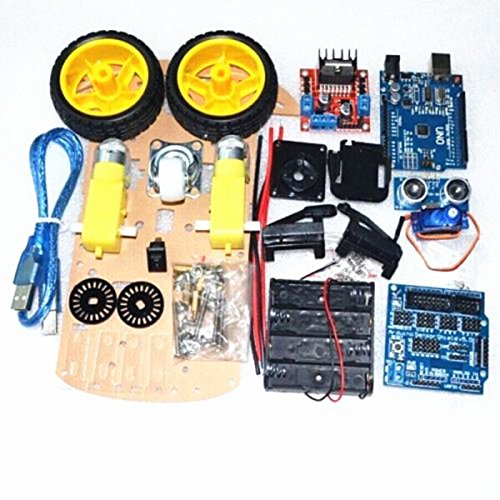 Industry Park Smart Car Tracking Motor Smart Robot Car Chassis 2WD Kit (Sensor Chassis)