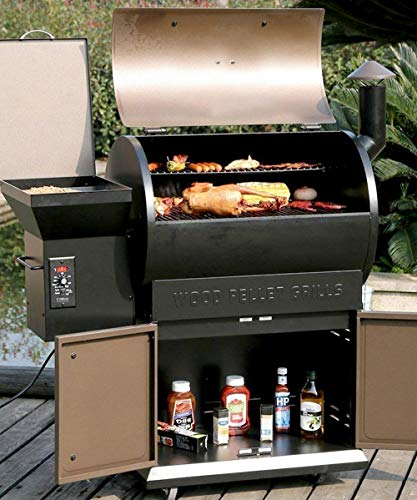 Pellet Grill Pro 7 in 1 Electric Wood Pellet Smoker Grill ...