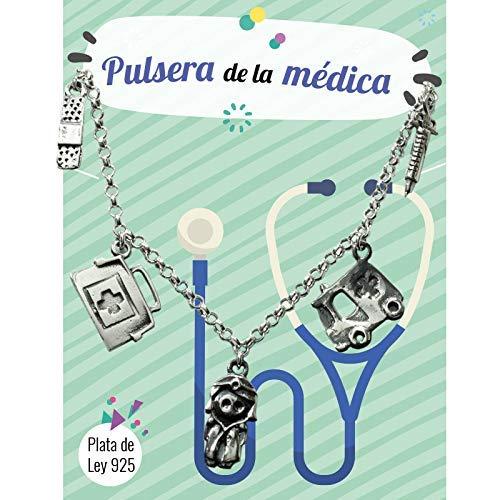 Pulsera de la Médica Plata de Ley - Pulseras profesiones ...