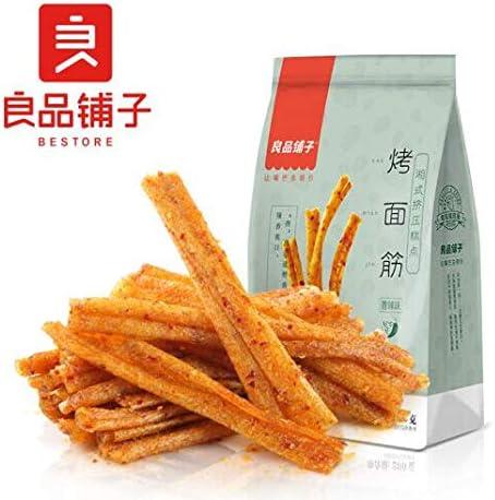 中国名物 おつまみ 大人気 Daben® 良品铺子 烤面筋 香辣味 休闲小吃 200g