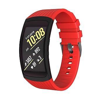 NotoCity Bracelet Fit 2/Bracelet Fit 2 Pro Compatible Samsung Gear, Bracelets Smartwatch en