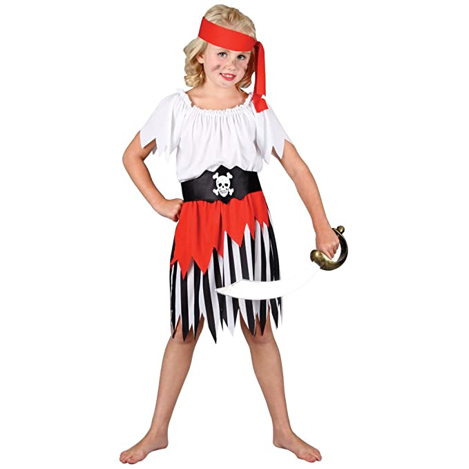 Amazon.com: Alta Mar pirata disfraces Up & Play disfraz M ...