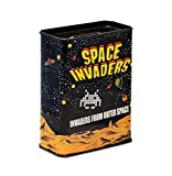 Space Invaders 6820992001Retro Game Piggy Bank Coin Money Box, Metal, 9x 4.5x 11.5cm