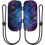 MightySkins Protective Vinyl Skin Decal for Nintendo Joy-Con Controller wrap cover sticker skins Nebula