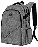 Business Laptop Backpack, Anti-Theft Travel Laptop Backpacks for Women Men with USB Charging Port&Headphone Interface , Large Compartment College School Bag Fits 15.6 Inch Laptop&Notebook