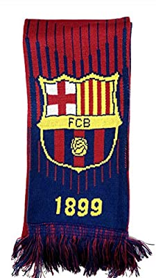 Icon Sports Group Inc. FC Barcelona Soccer Team Official Double Sided Scarf