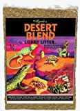 Zilla 11993 Ground English Walnut Shells Desert Blend, 50-Pound Bag