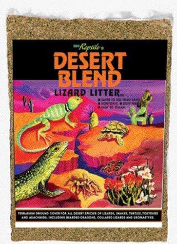 Zilla 11993 Ground English Walnut Shells Desert Blend, 50-Pound Bag by Zilla