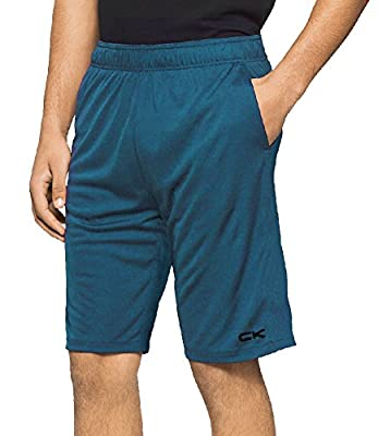 Calvin Klein Performance Men's CK Solid Athletic Trainer Shorts
