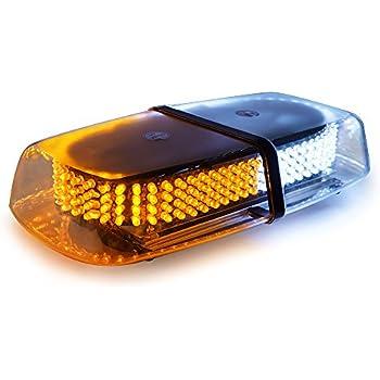 Amazon Com Hqrp 24 Led Mini Light Bar Amber Warning