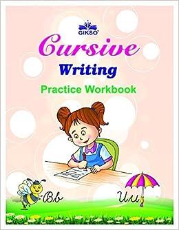 Buy Gikso Cursive Writing Book for Kids English Handwriting ...