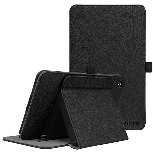 Stand Case Pack (Fintie T-Mobile LG G Pad X2 8.0 Plus Case (Support Extra Battery Plus Pack), Multi-Angle Viewing Stand Cover for LG GPad X2 8.0 Plus T-Mobile Model V530 8-Inch Android Tablet 2017 Release, Black)