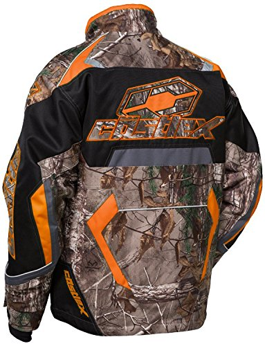 Castle X Racing Youth Bolt Realtree Xtra Orange Boys G3 Jacket- Large by Castle