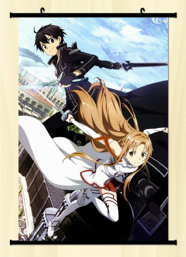 Great! Sword Art Online Fabric Wall Scroll Poster 16*24