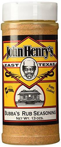 John Henry's Bubba's Rub 13OZ (Bubbas Bbq Rub compare prices)