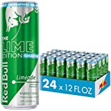 Red Bull Energy Drink Sugar Free Limeade 24 Pack 12 Fl Oz, Sugarfree Lime Edition