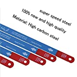 Hacksaw Replacement Blades (10 Pack) High Speed