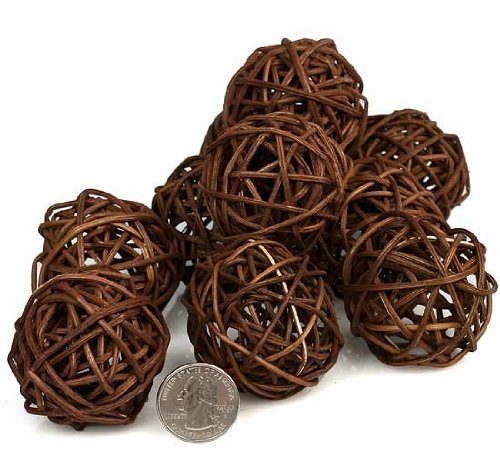 PAPAYA SHOP Brown Twig Grapevine Balls by Papaya Shop (Image #1)
