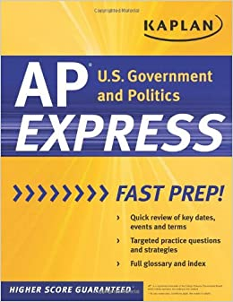 Kaplan AP U.S. Government & Politics Express (Kaplan Test Prep)