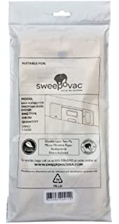 Sweepovac SVB 5 Pk Of Replacement Bags U0026 1 Filter