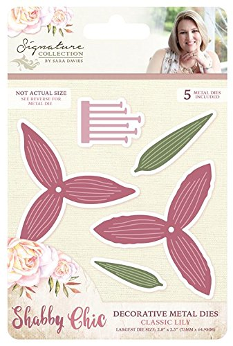 Crafters Companion Sara Signature Shabby Chic Die Classic Lily
