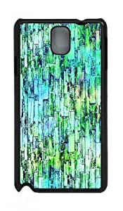 Snap-on Design with Illustration Painting Colored Stone Wall 2 Hard Plastic Back Case for Samsung Galaxy Not3 N9000 -517081