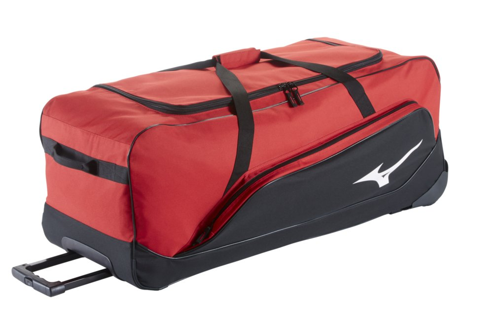 Mizuno Mx Equipment Wheel Bag G2, Red